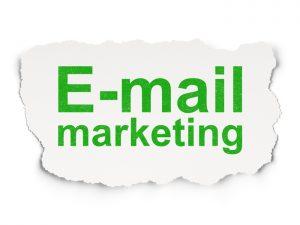 Marketing via e-mail